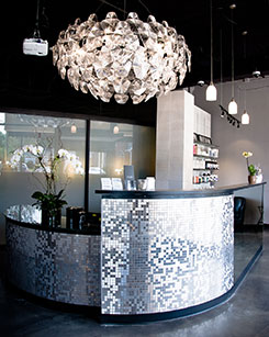 salon front desk